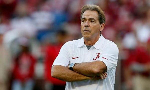 Alabama football coach Nick Saban_26533