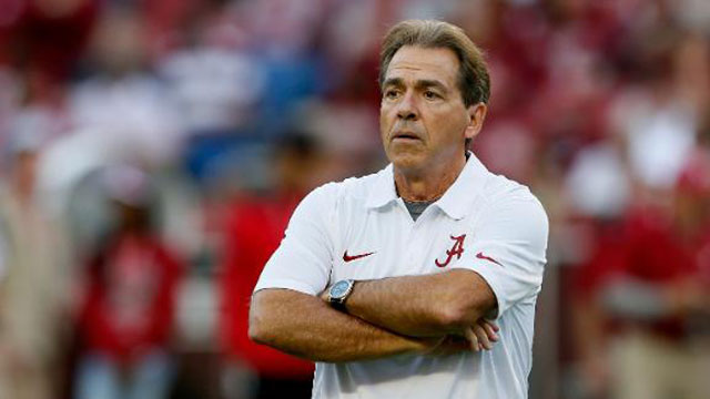 Alabama football coach Nick Saban_26533