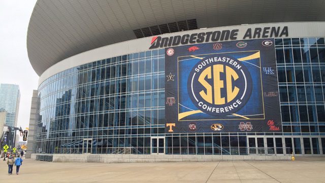 SEC tournament 2015, Bridgestone Arena_32520