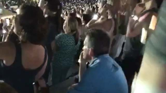 Vine Shows Less Than Thrilled Man At Taylor Swift Concert