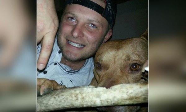 Joe Lewis and his dog, Jackson_50684