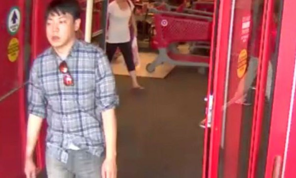 Theft suspect at Cool Springs Target_59860