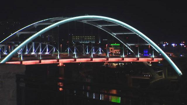 Korean Veterans Bridge lights_69439