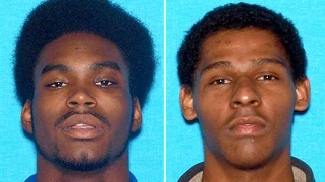 "Dickson suspects, Benjamin ""Gabe"" Douglas (L) and Darien Reyes (R)_69381"
