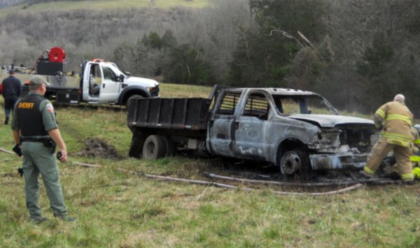 Stolen truck fire Rutherford County_248426