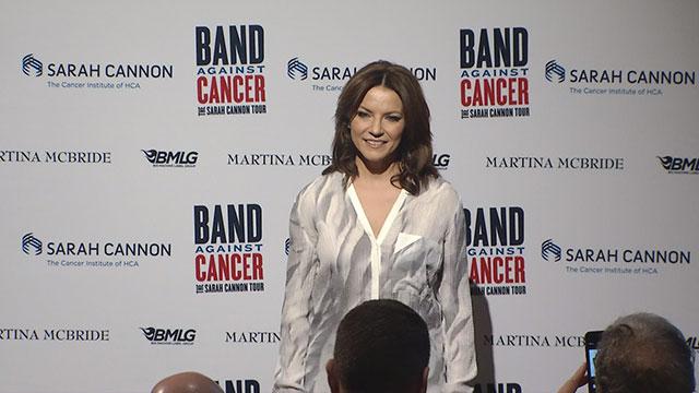 Martina McBride, Band Against Cancer_256191
