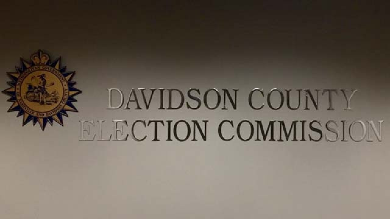 Interim administrator for Davidson Co. Election Commission ...