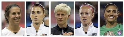 US Womn Equal Pay Soccer_271403