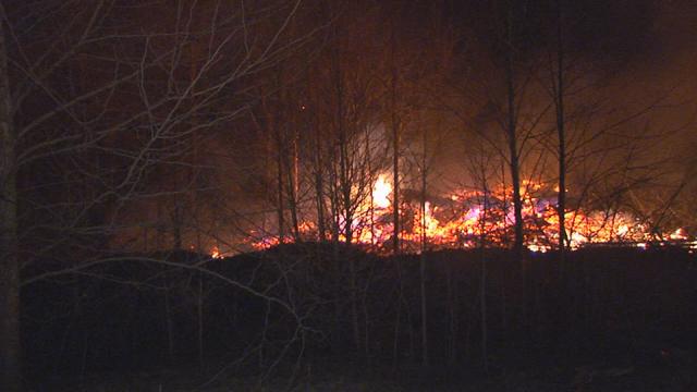 Robertson County brush fire_269073