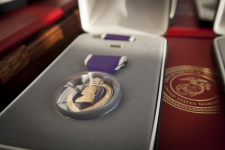 purple heart for Chattanooga Marines_276524