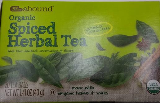 recalled CVS tea_277929