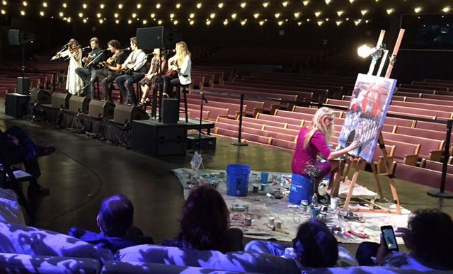 Nashville cast at Opry_286579
