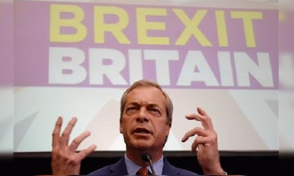 United Kingdom Independence Party leader, Nigel Farage, announces he is resigning as party leader_296547