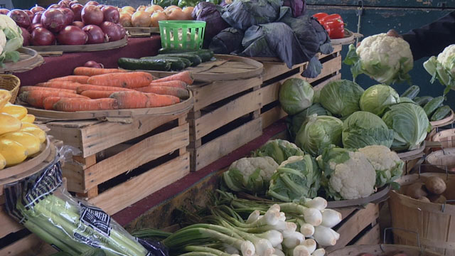 Farmer's Market, Produce, Fruit, Vegetables_29068