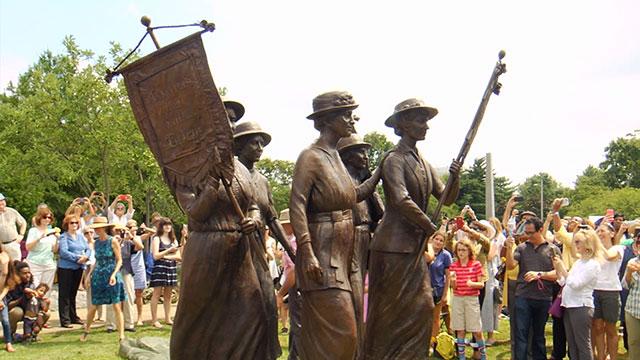 Women's suffrage monument_312542