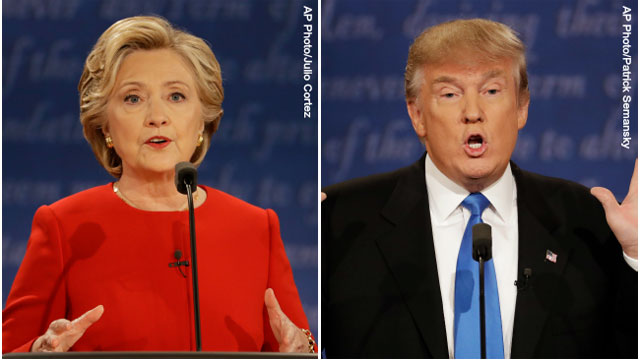 presidential debate. clinton vs. trump_321542