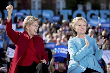 Hillary Clinton, Elizabeth Warren_328921