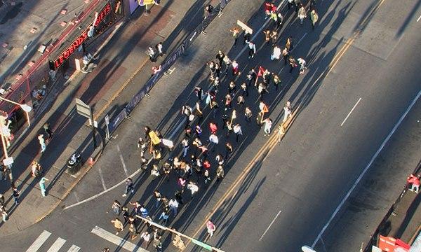 downtown Nashville protest_333719