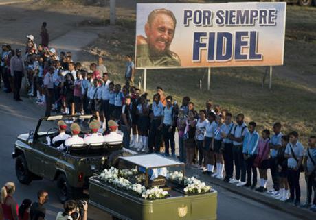 fidel castro funeral_341531