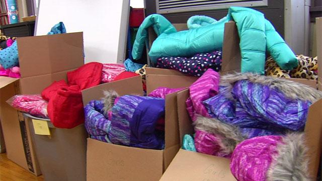 coat donations at Bunea Vista Elem._341718