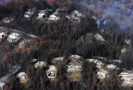 sevier county wildfire_341476