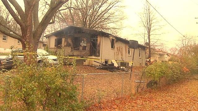 Poplar Avenue, Springfield house fire_343683