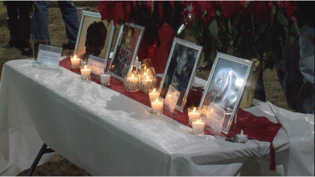 vigil for children killed in Springfield fire_345304