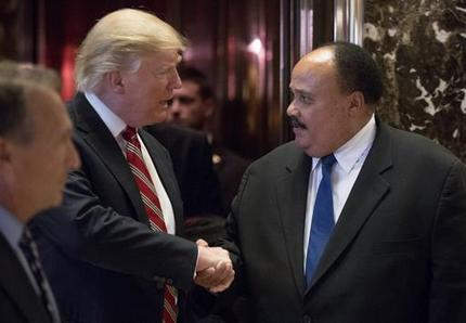 Martin Luther King III, Donald Trump_354155