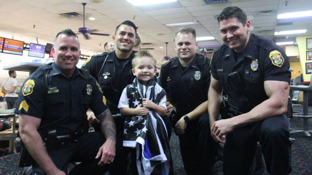 clearwater police department crashes boy's party_357005