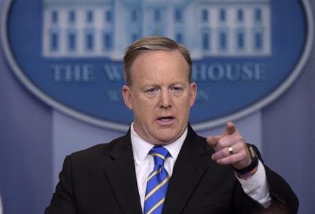 White House press secretary Sean Spicer_357076