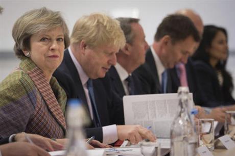 British Prime Minister Theresa May_356932
