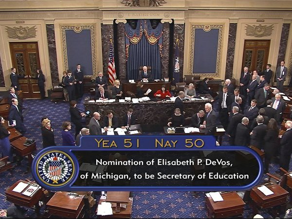 DeVos confirmation_366716
