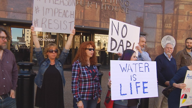 dakota access pipeline protest in Nashville_373651