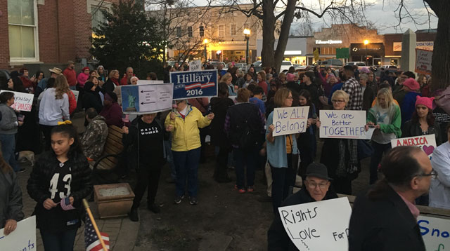 Murfreesboro We All Belong rally protest_360968