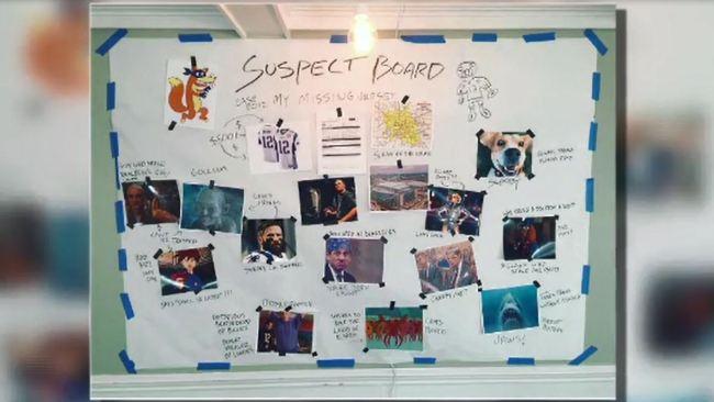 Tom Brady lists stolen jersey suspect board