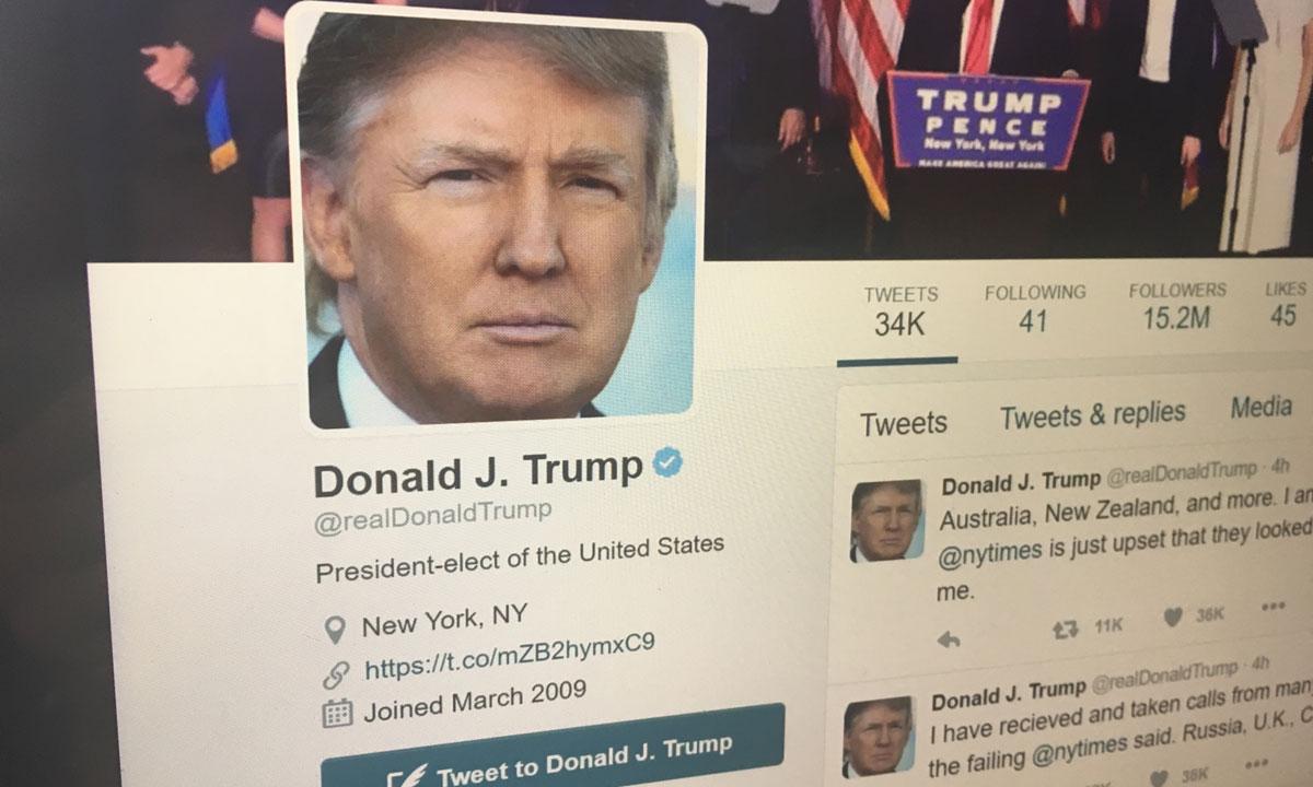 Donald Trump's Twitter_374674
