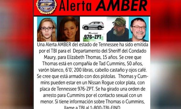 AMBER Alert in Spanish, Elizabeth Thomas, Tad Cummins_394987