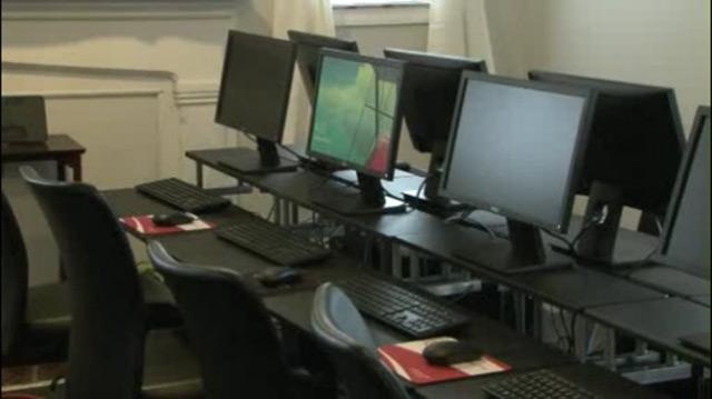 Westwood Baptist Church computer lab_382129