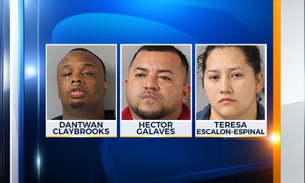 Hector Galaves , Dantwan Claybrooks, Teresa Escalon-Espinal, Cocaine heroin bust_400347