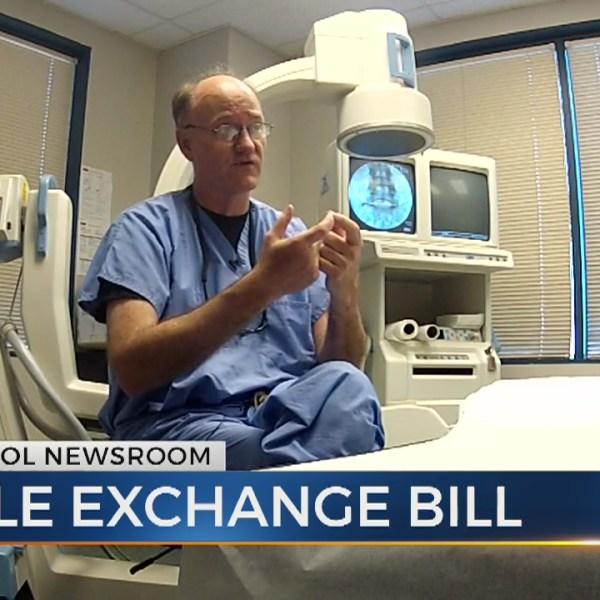 Bill authorizes statewide needle exchange program