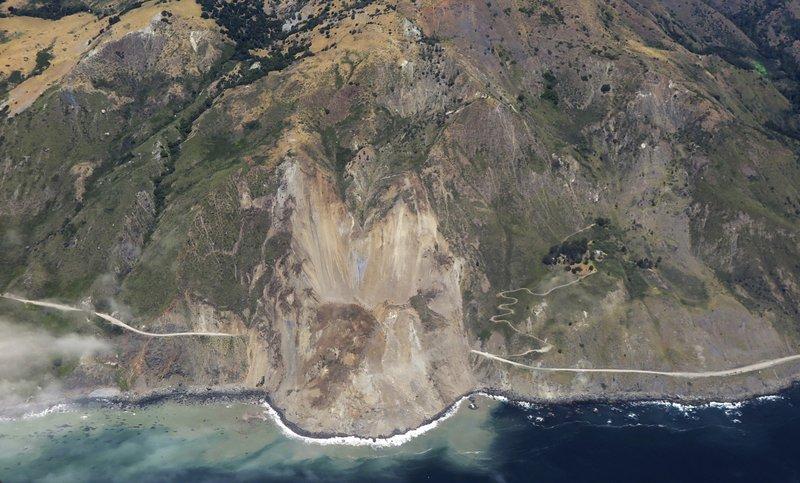 Big Sur Landslide_411750