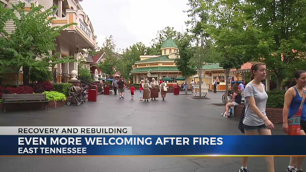 Sevier County recovers, rebuilds after wildfires