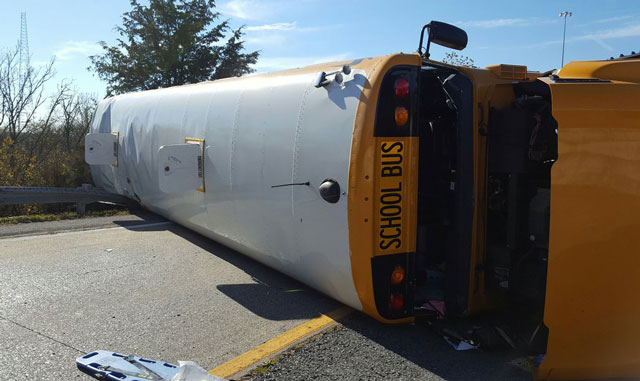Christina Mathis, Chester County school bus crash Briley Parkway Interstate 65_410289