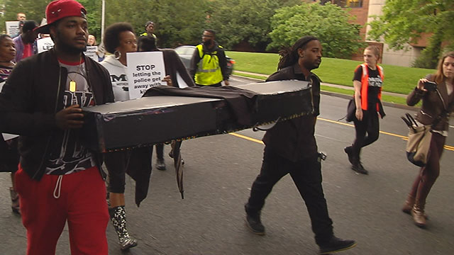 Silent march for Jocques Clemmons_408807