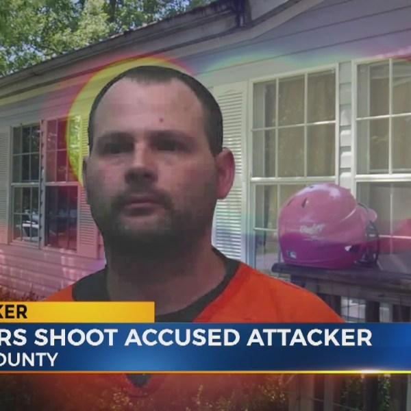 Neighbors shoot accused attacker
