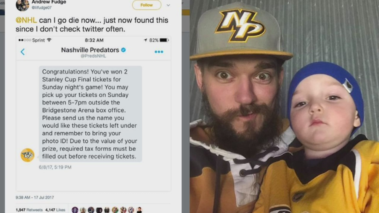 Preds fan who missed Stanley Cup game invited to season opener