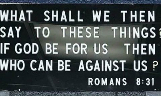 bible verse on Knoxville police station_428715