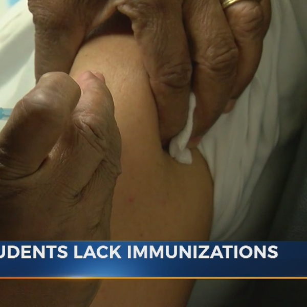 Middle schoolers need proof of immunizations