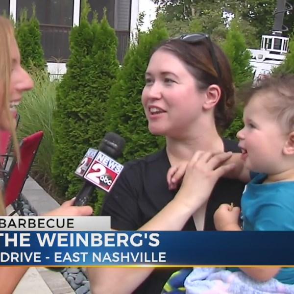 Danielle Breezy hosts BBQ at East Nashville family's home
