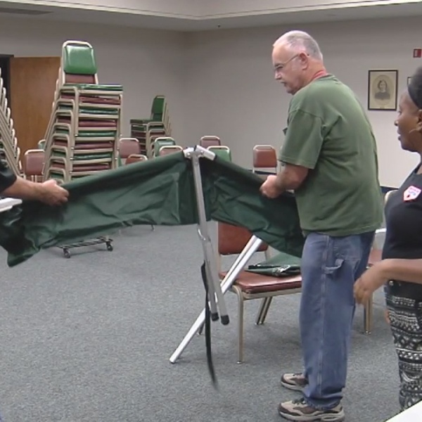 Red Cross trains volunteers to help with Harvey